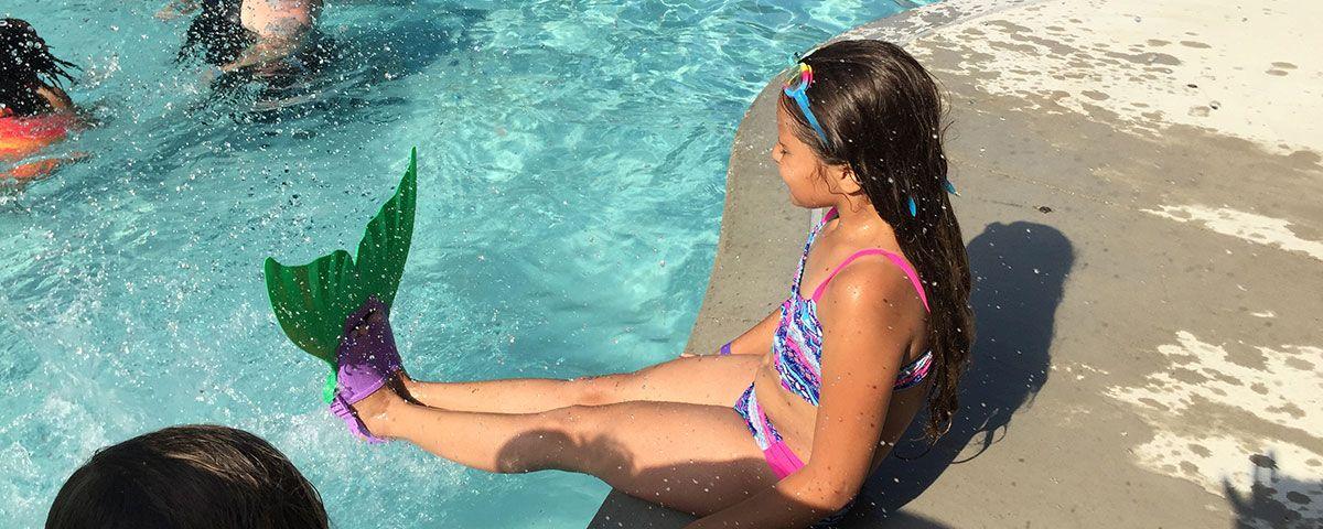 Mermaid-swimmer
