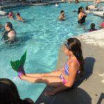 Mermaid swimmer