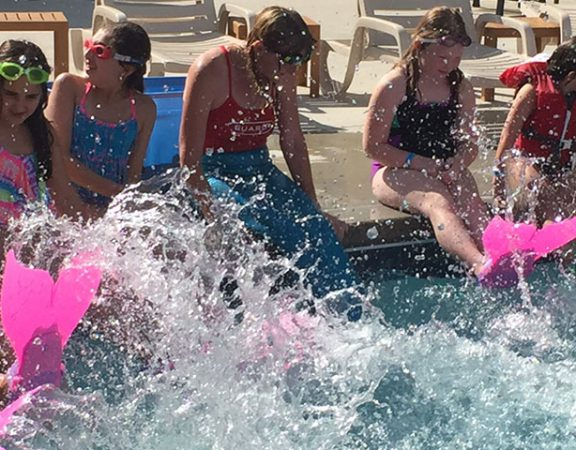 Mermaid Class at Zehnder's Splash Village