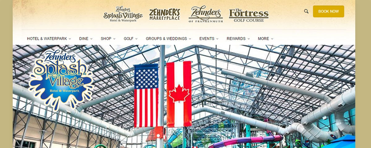 Zehnder's new website is up and running