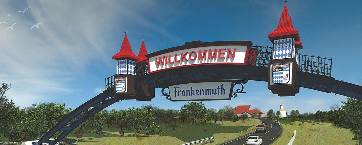 Palmer Frankenmuth Gateway Arch