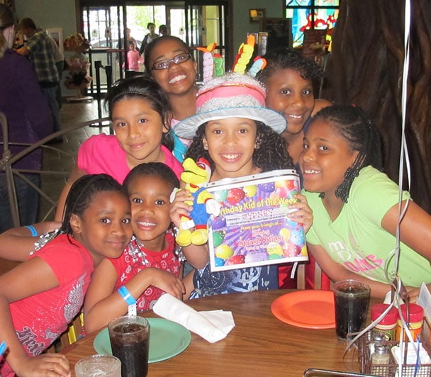 Celebrate your birthday with a party at Zehnder's Splash Village
