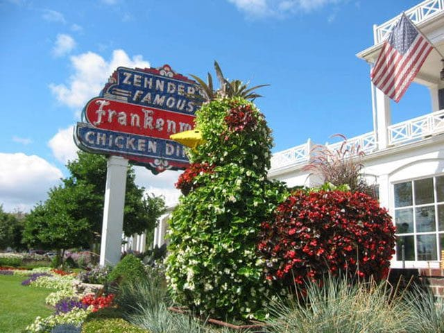 Zehnder's Restaurant is the top independent restaurant for meals served in Michigan and #2 in the nation