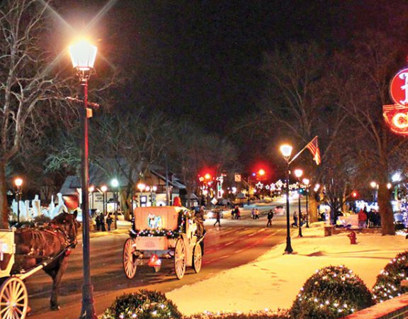 Enjoy Frankenmuth for the holidays
