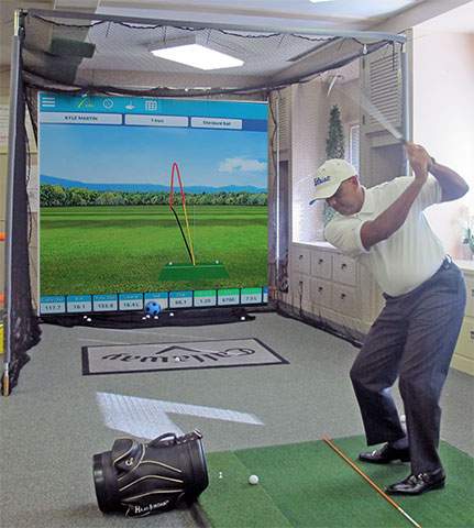The Fortress is offering indoor golf lessons again this year
