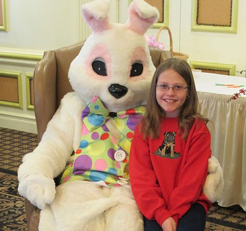 Breakfast with the Easter Bunny