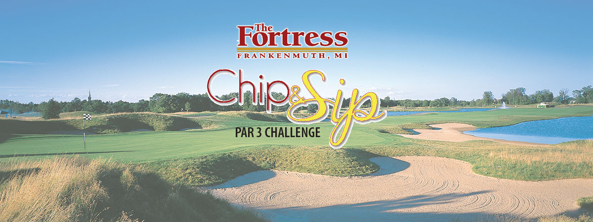 The Fortress Chip and Sip Par 3 Challenge Golf event