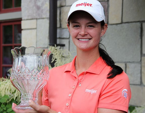 Lindsey McPherson - 2017 Michigan Women's Open Golf Champion