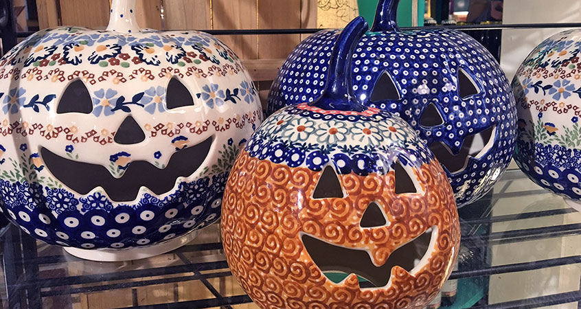 Fall and Holiday Polish Pottery Collection