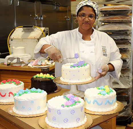 Bakery job positions available