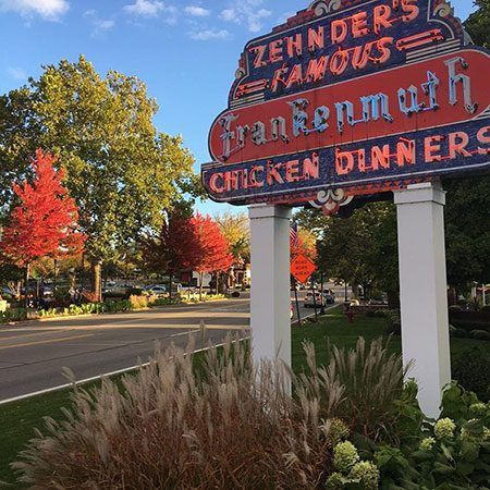 Zehnder's in the fall