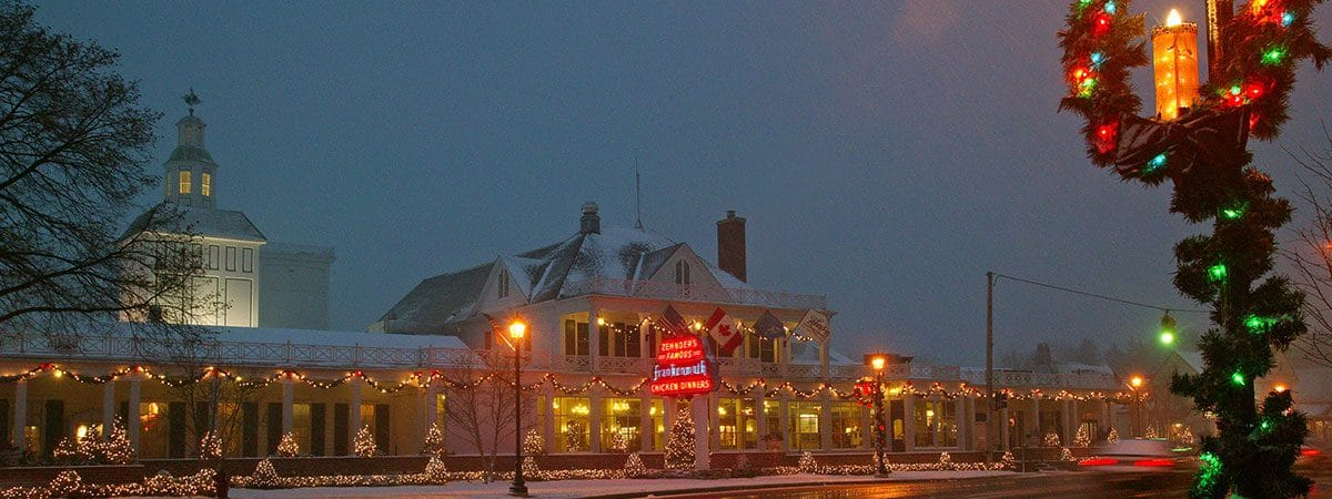 Frankenmuth Christmas.Merry Christmas Zehnder S Of Frankenmuth