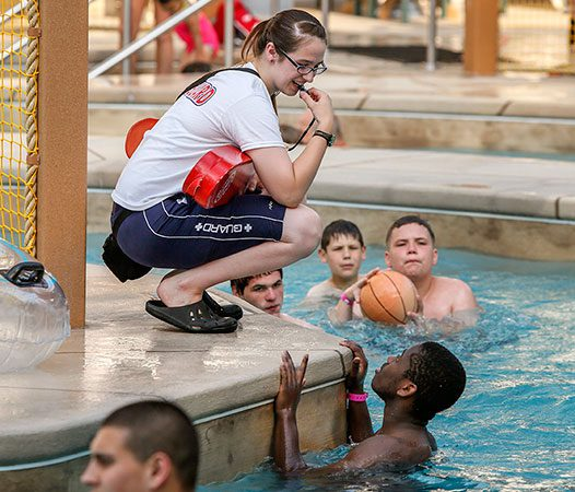 Zehnder's Splash Village invests in Lifeguard training for your safety