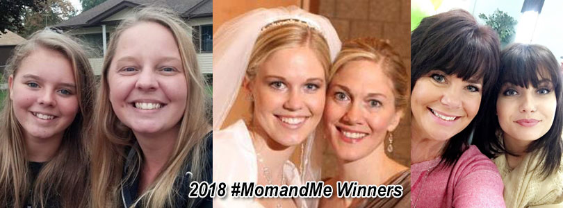 Mom and Me Contest 2018 Winners