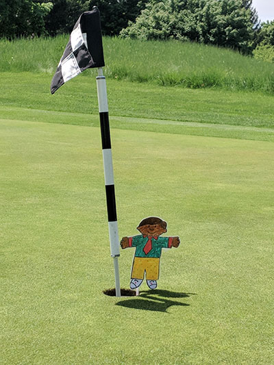 Flat Stanley visits The Fortress