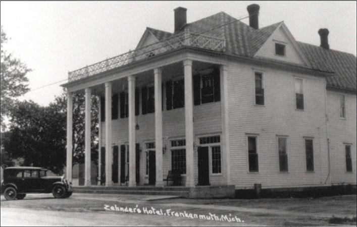 Zehnder's Hotel, circa 1930