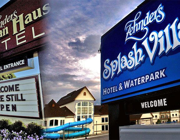 Bavarian Haus and Zehnder's Splash Village