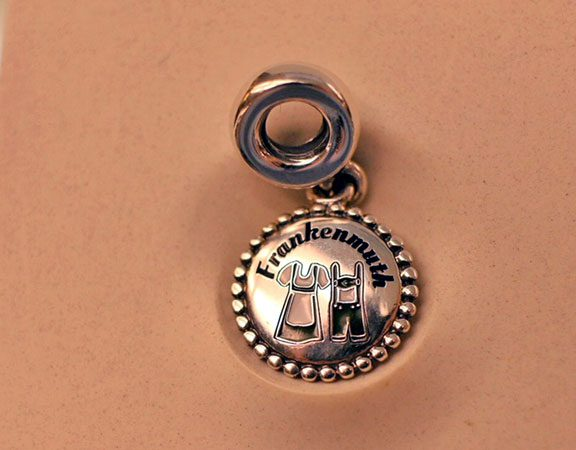 NEW: Custom Frankenmuth Pandora Charm available exclusively at Zehnder's!