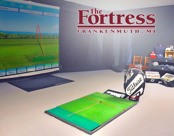 The Fortress Indoor Golf Center now open!