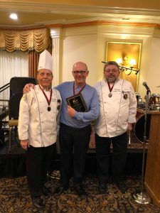 Al Zehnder, CEO receives award for hosting the ACF Hot Food Competition for 28 years