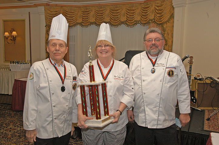 Pastry Category Winners of the Hot Food Competition
