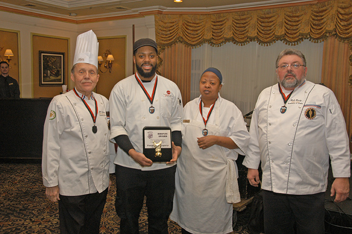 Poultry Category Winners from the Hot Food Competition