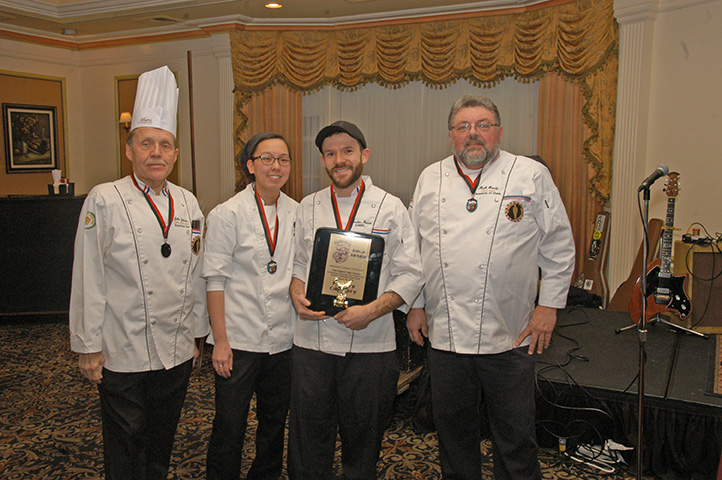 Poultry Category Winners of the Hot Food Competition