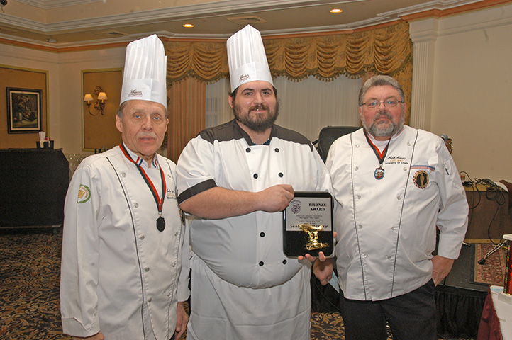 Winners from the Hot Food Competition - Seafood Category