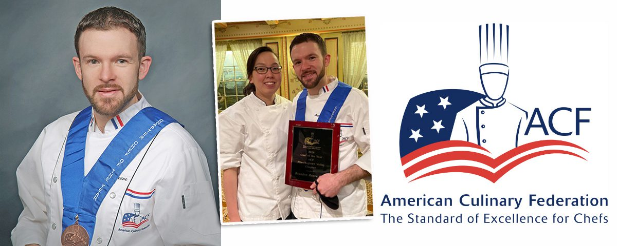 Brandon Reeves - ACF Chef of the Year